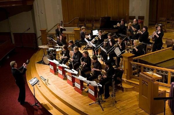 Seattle Women's Jazz Orchestra at Jazz Vespers