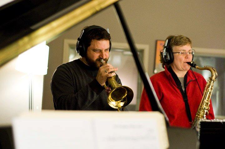 Recording the Nick Drake CD with the Jason Parker Quartet