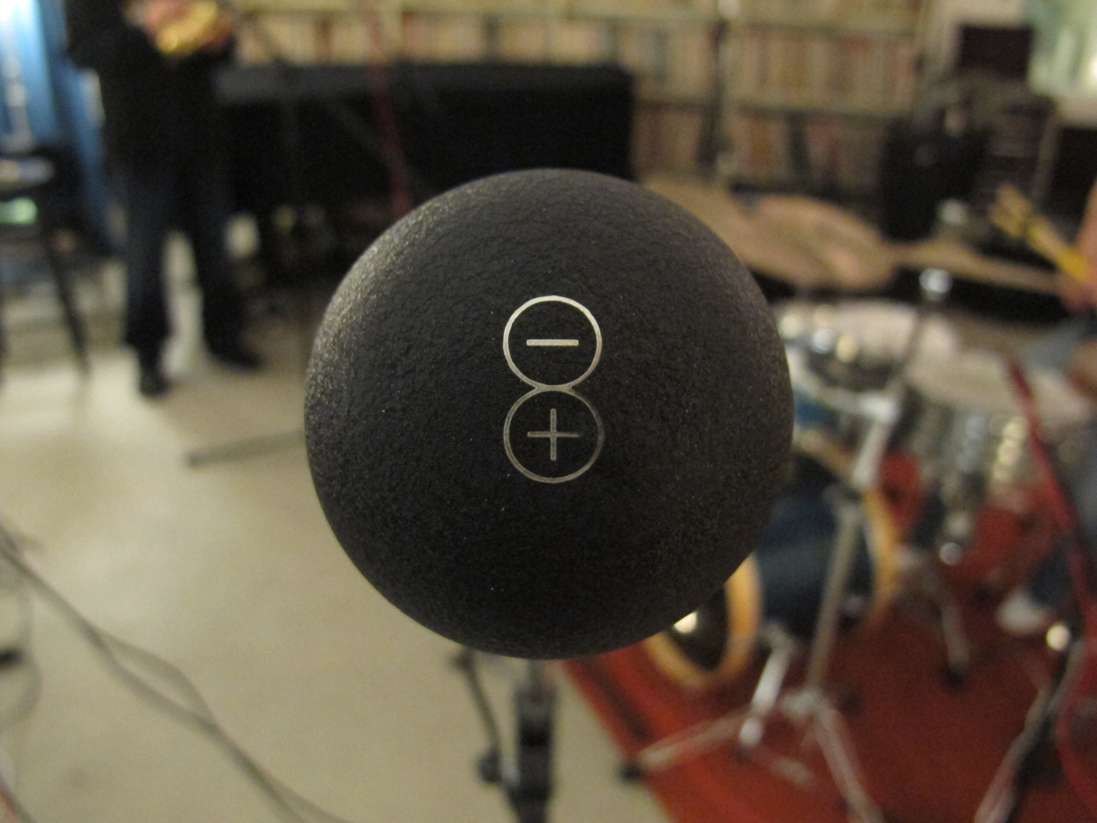 Microphone at Sonarchy Session
